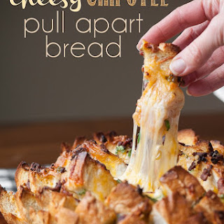 Cheesy Chipotle Pull Apart Bread