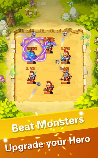 Idle Monster Marbles-Bomb! Bomb! screenshot 11