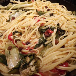 Delicious Escarole with Spaghetti