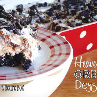 Heavenly Oreo Dessert.