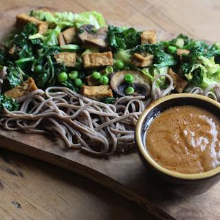 Tofu Satay With Peanut Sauce [Vegan].
