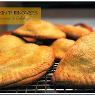 Pumpkin Turnover Recipe / Receta de Empanadas de Calabaza