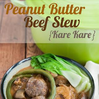 Peanut Butter Beef Stew (Kare Kare).