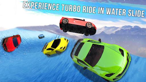 Frozen Water Slide Car Race 1.6 screenshots 10