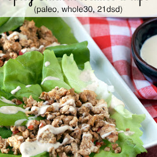 Spicy Chicken Lettuce Wraps Healthy Recipes