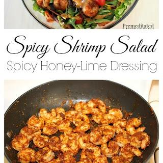Southwest Shrimp Salad with Spicy Honey-Lime Dressing