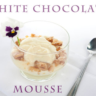 White Chocolate Mousse & A Giveaway.