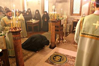 Photo: Преди чина на възвеждане в игуменски сан.