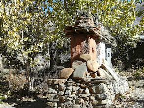 Photo: Wir erreichen Dzong im Upper Mustang