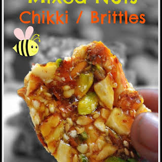MIXED NUTS OR DRY FRUIT CHIKKI RECIPE/ MIXED NUTS BRITTLE.
