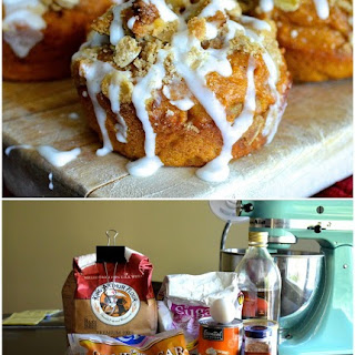 Skinny Pumpkin Spice Muffins with Walnut Streusel