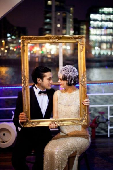 Throwback Ideas That Invoke Fun and Nostalgia -flapper outfits, speakeasy decor - Winter Wedding Ideas You Will Love – Wedding Soiree Blog by K'Mich, Philadelphia's premier resource for wedding planning and inspiration
