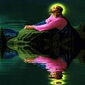 Jesus Shadow Live Wallpaper icon