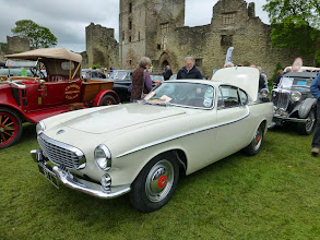 Photo: The Volvo used by Roger Moore in The Saint