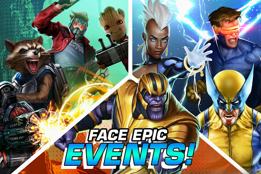 MARVEL Puzzle Quest: Join the Super Hero Battle! screenshot 6