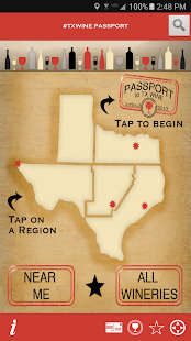 TX Wine Passport- screenshot thumbnail