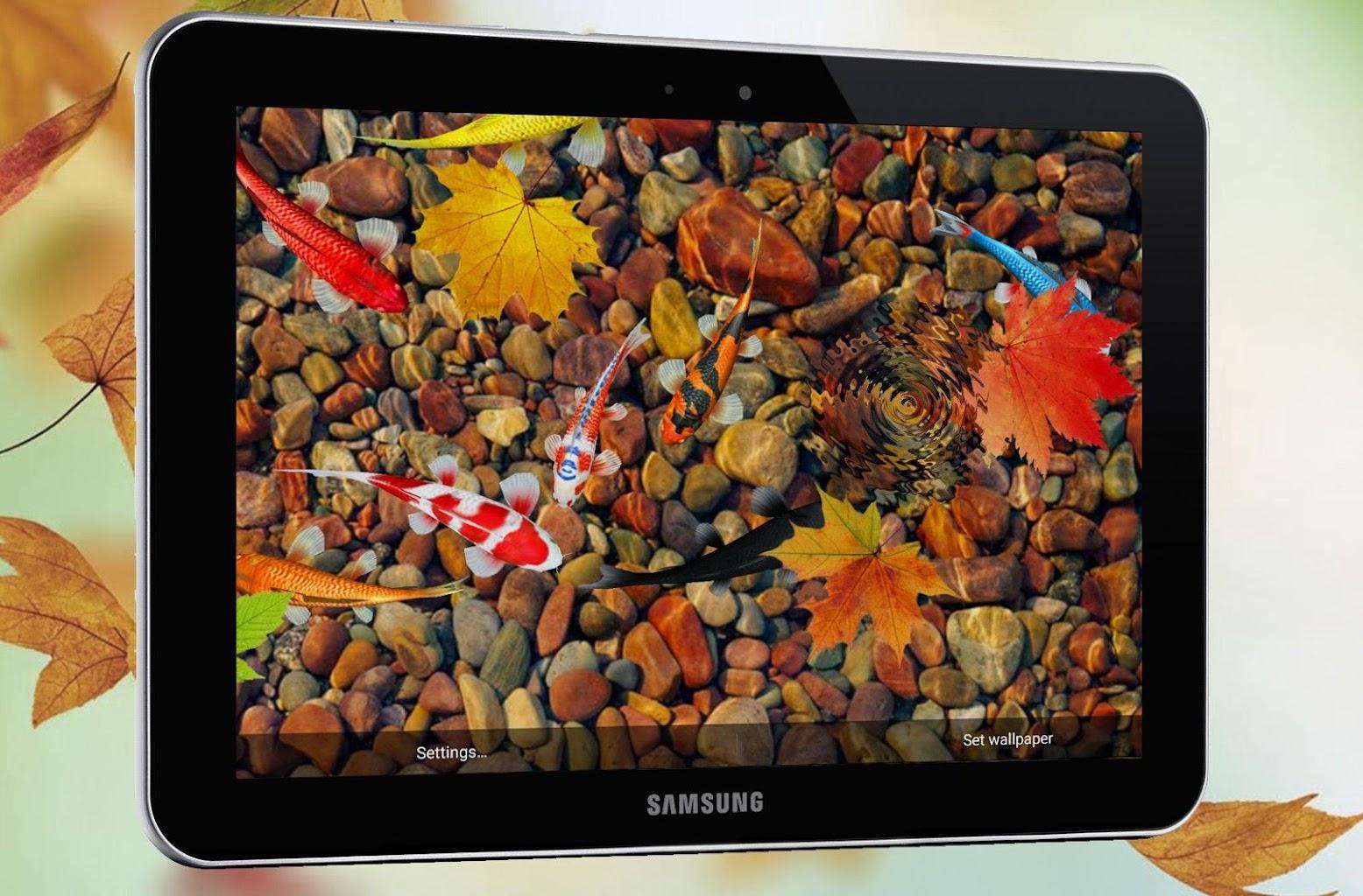 KOI Lucky Fish Live Wallpaper 1.0 Apk Download - sonisoft ...