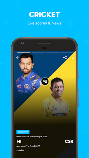 hike messenger : Live Cricket Scores & News screenshot 1