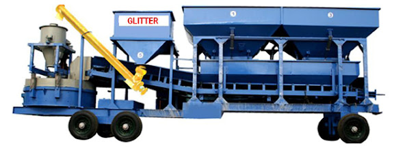 Photo: Fully Automatic Single Chassis Mobile Concrete Batching Mixing Plant with Pan Mixer