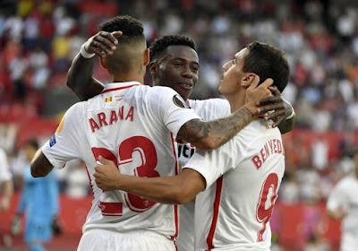 Seville s'est imposé 0-2 à l'Espanyol Barcelone