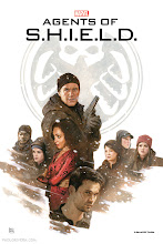 Photo: AGENTS OF S.H.I.E.L.D. EPISODE 18 POSTER. 2014. Gouache, watercolor, and acrylic on bristol board, 13 × 19″.