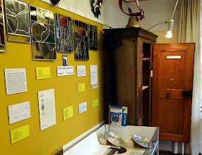 Photo: Ortsmuseum mit Ausstellungsobjekten