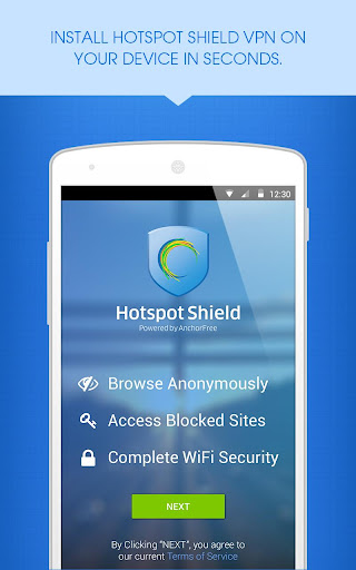 Hotspot Shield VPN Installer screenshot 2