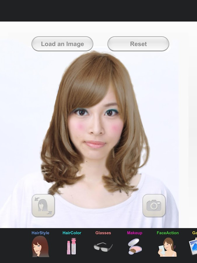 Hairstyle Simulator SimFront Android Apps on Google Play