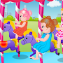 Kids Games: Baby in Theme Park