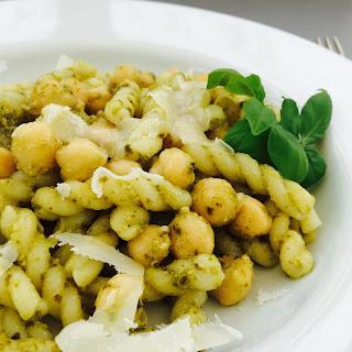 Chickpea Pesto Pasta Recipes