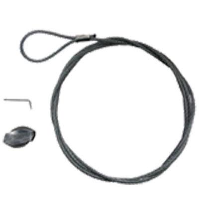 Gripple Staglina GPAK4. Vajerdiameter 4,0 mm. Längd 5,0 meter. (Flera Förpackningsstorlekar)