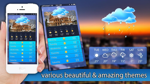 Screenshot for Weather Forecast in United States Play Store