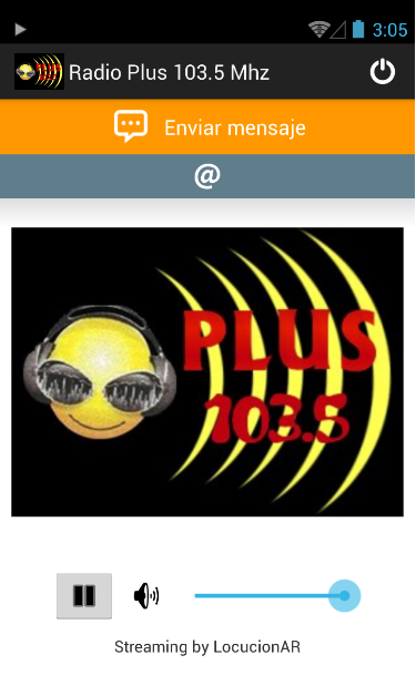 Radio Plus 103.5 Mhz- screenshot