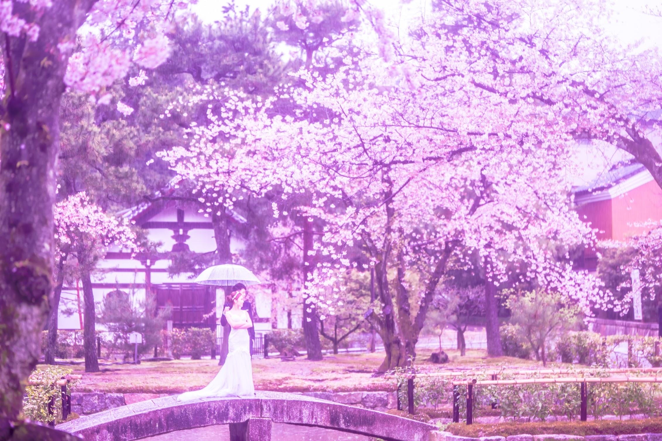 京都 ウェディングフォト1