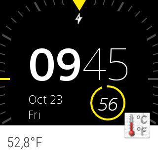 Thermometer (+StatusBar +Wear)- screenshot
