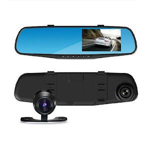 Oglinda retrovizoare cu 2 camere Full HD oferta reducere 1