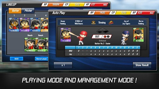 Baseball Star MOD 1.5.3 (Unlimited Autoplay Points / Free Training) APK 2