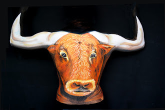 Photo: Body painting toro