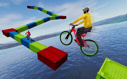 Code Triche cascade bicyclette des pistes: gratuit cycle Jeux mod apk screenshots 4