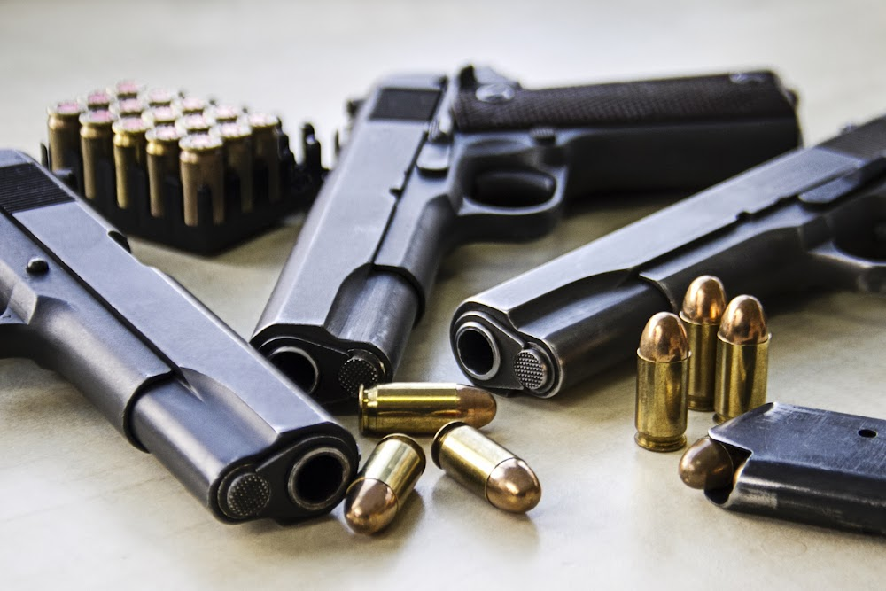 Twenty suspects nabbed as police remove 17 firearms from wrong hands