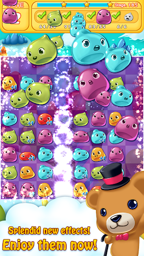 Jelly Jelly Crush - In the sky screenshots 2