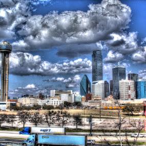 Dallas Skyline by Sal 1701 - City,  Street & Park  Skylines ( pwcskyline )