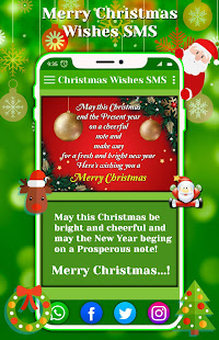 Merry Christmas Wishes SMS - Status - Apps on Google Play