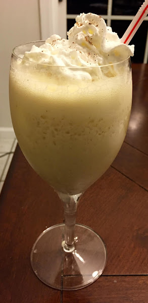 Frozen Light Spiked Coconut Eggnog Recipe