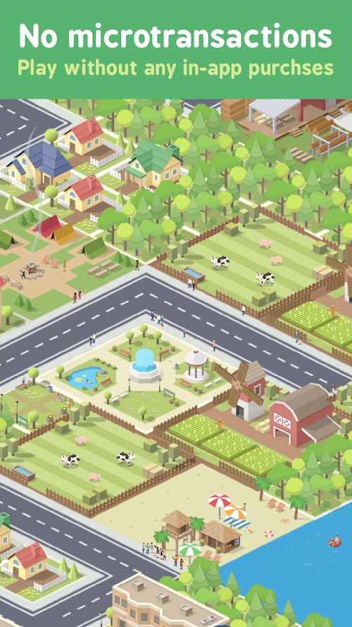 Screenshot 3 Pocket City 1.1.231 APK MOD PAID