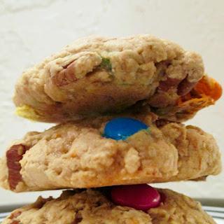 Healthier Monster Cookies.