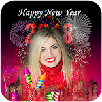 2018 happy New Year Photo Frames Icon