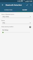 Screenshot of Bluetooth Detection