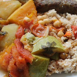 Vegetable Couscous.