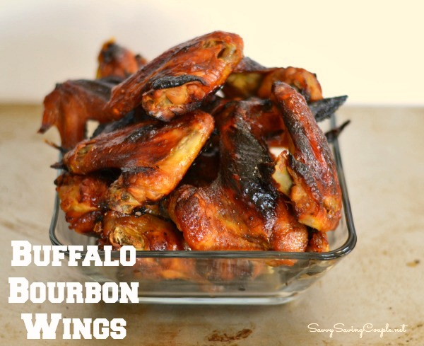 Buffalo Bourbon Chicken Wings Recipe *with Rave Review! Culinary Blended Bourbon™ Recipe
